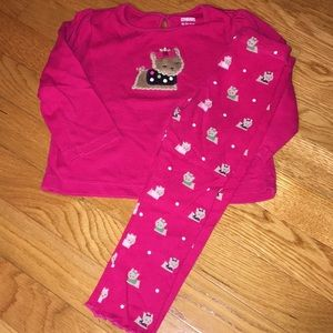 Gymboree 18-24 month Yorkie outfit